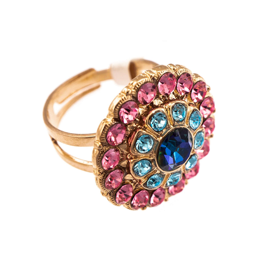 Mariana Rose Gold Plated Ring | Roxanne's Jewellery | 144RG