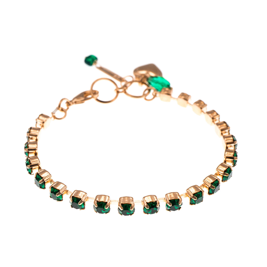 Lucky Birthstone-The Color of Your Life Collection Rose Gold Plated Bracelet-4000-205205RG
