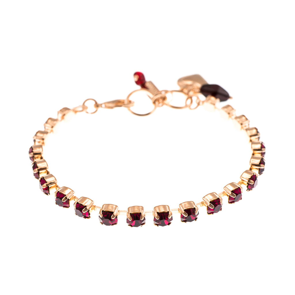 Lucky Birthstone-The Color of Your Life Collection Rose Gold Plated Bracelet-4000-501501RG