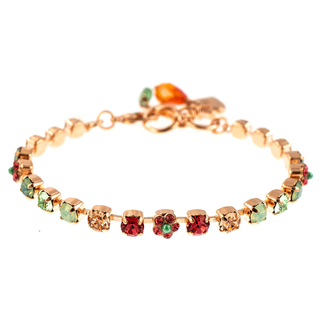 Painted Lady Collection Rose Gold Plated Bracelet-4008-1120RG