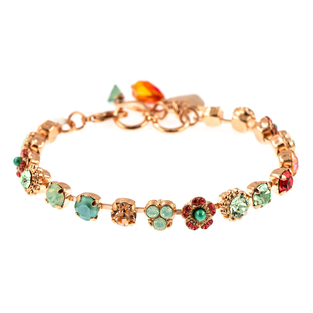 Painted Lady Collection Rose Gold Plated Bracelet-4028-1120RG
