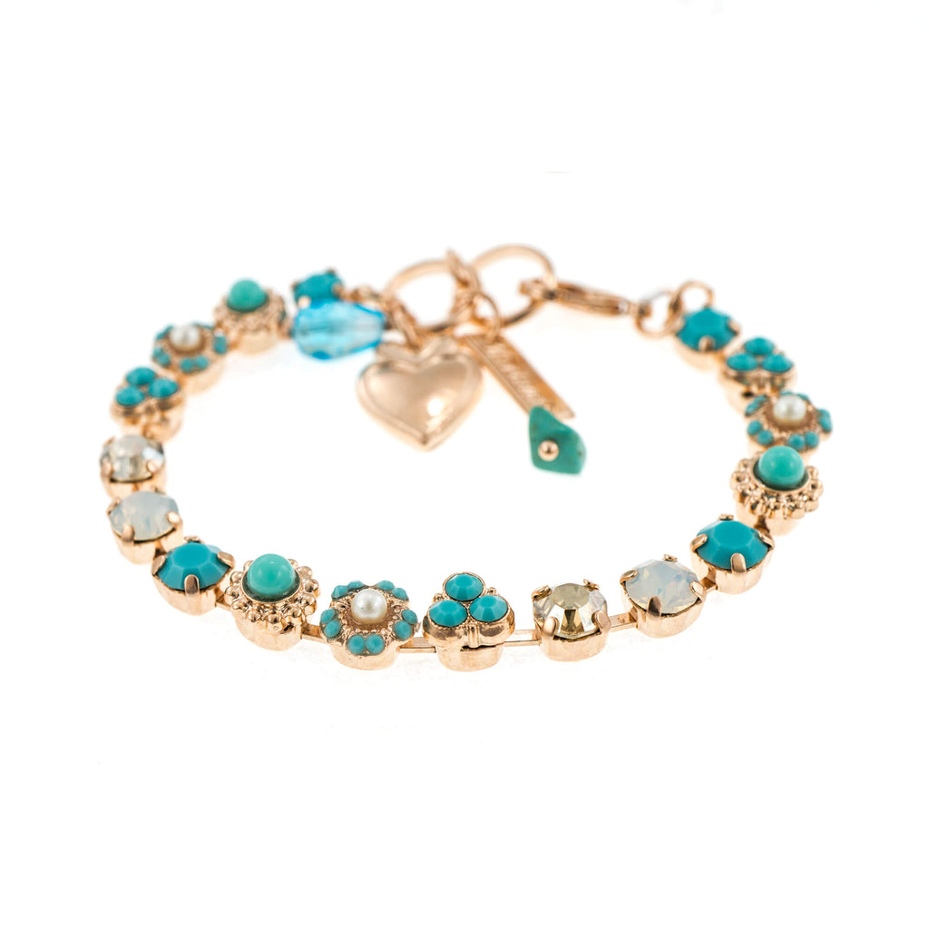Sapphire Sky Collection Rose Gold Plated Bracelet-4028-807RG