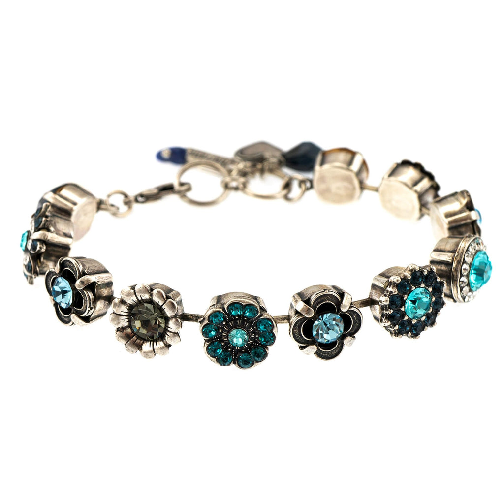 Nightfall  Collection Silver Plated Bracelet-4072-1114SP