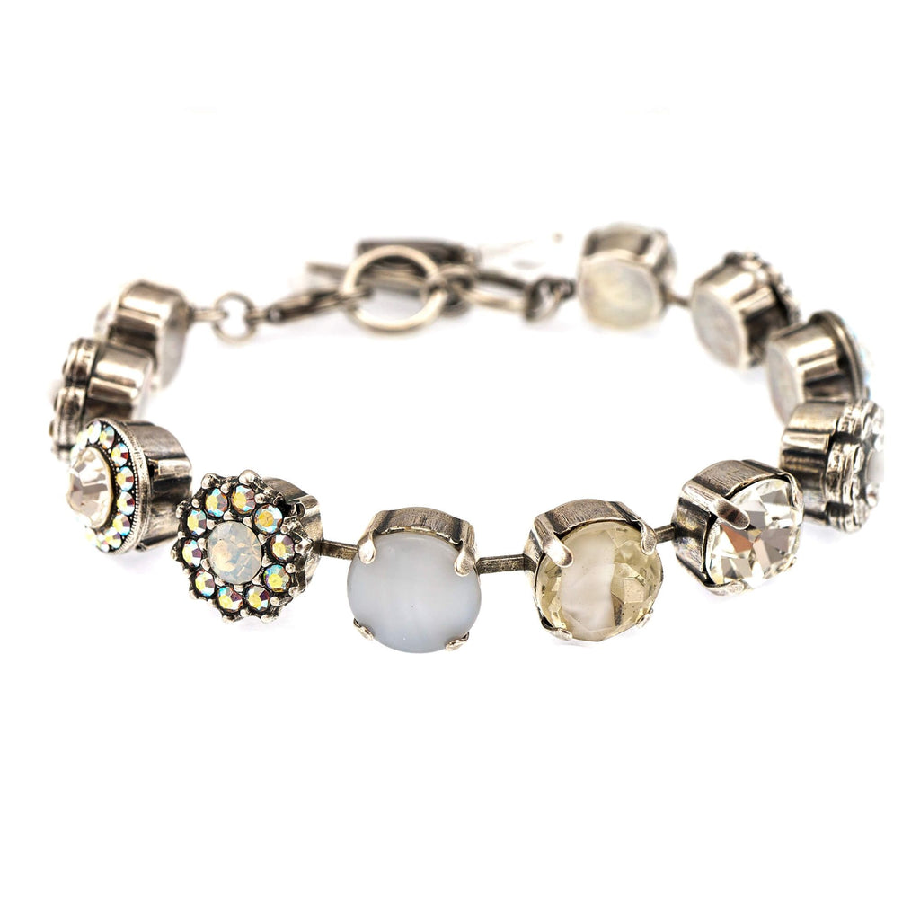 On a Clear Day Collection Silver Plated Bracelet-4084-001SP