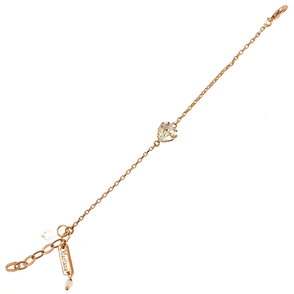 Mariana Rose Gold Plated Bracelet | Roxanne's Jewellery | 001RG