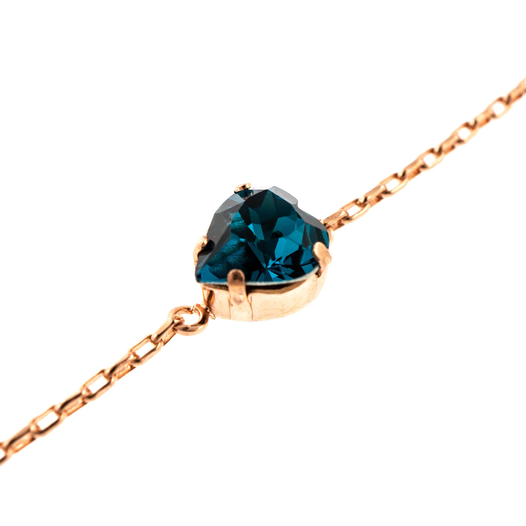 Nightfall  Collection Rose Gold Plated Bracelet-4100/2-207RG