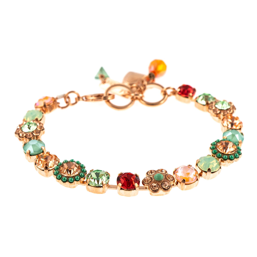 Painted Lady Collection Rose Gold Plated Bracelet-4173/3-1120RG