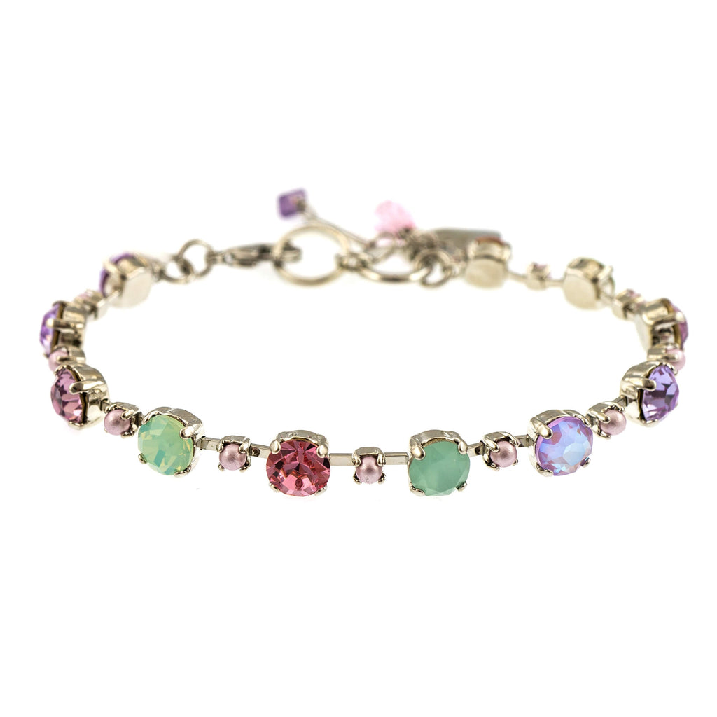 Lavender Collection Rhodium Plated Bracelet-4173/6-1910RO