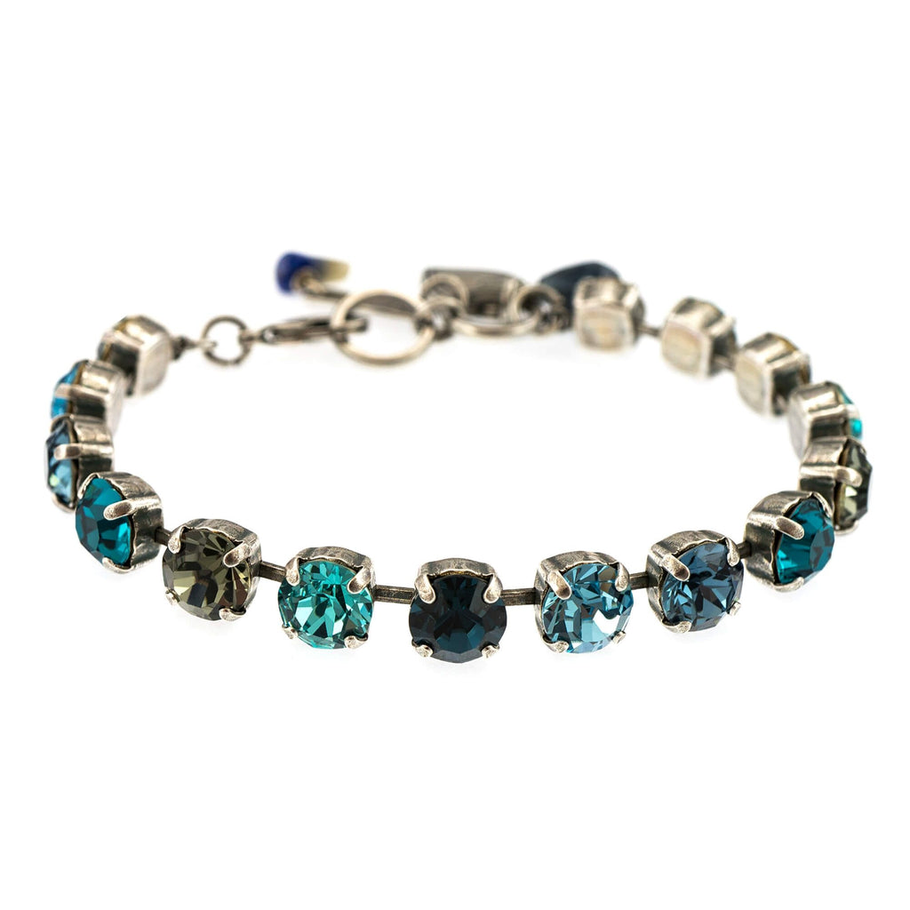 Nightfall  Collection Silver Plated Bracelet-4252-1114SP