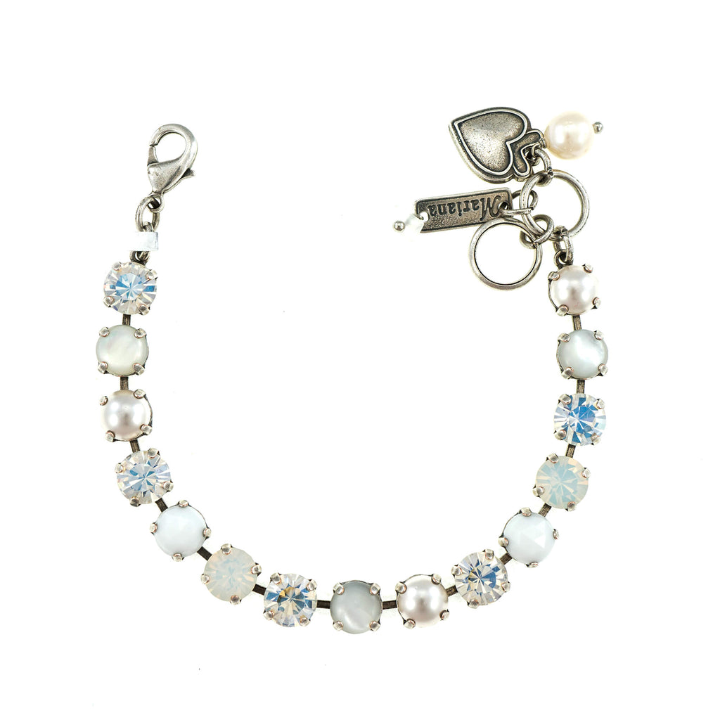 Mariana Silver Plated Bracelet | Roxanne's Jewellery | M5087SP
