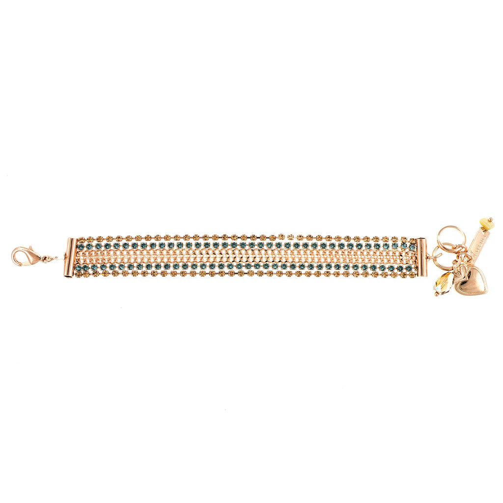 Mariana Rose Gold Plated Bracelet | Roxanne's Jewellery | 1092RG