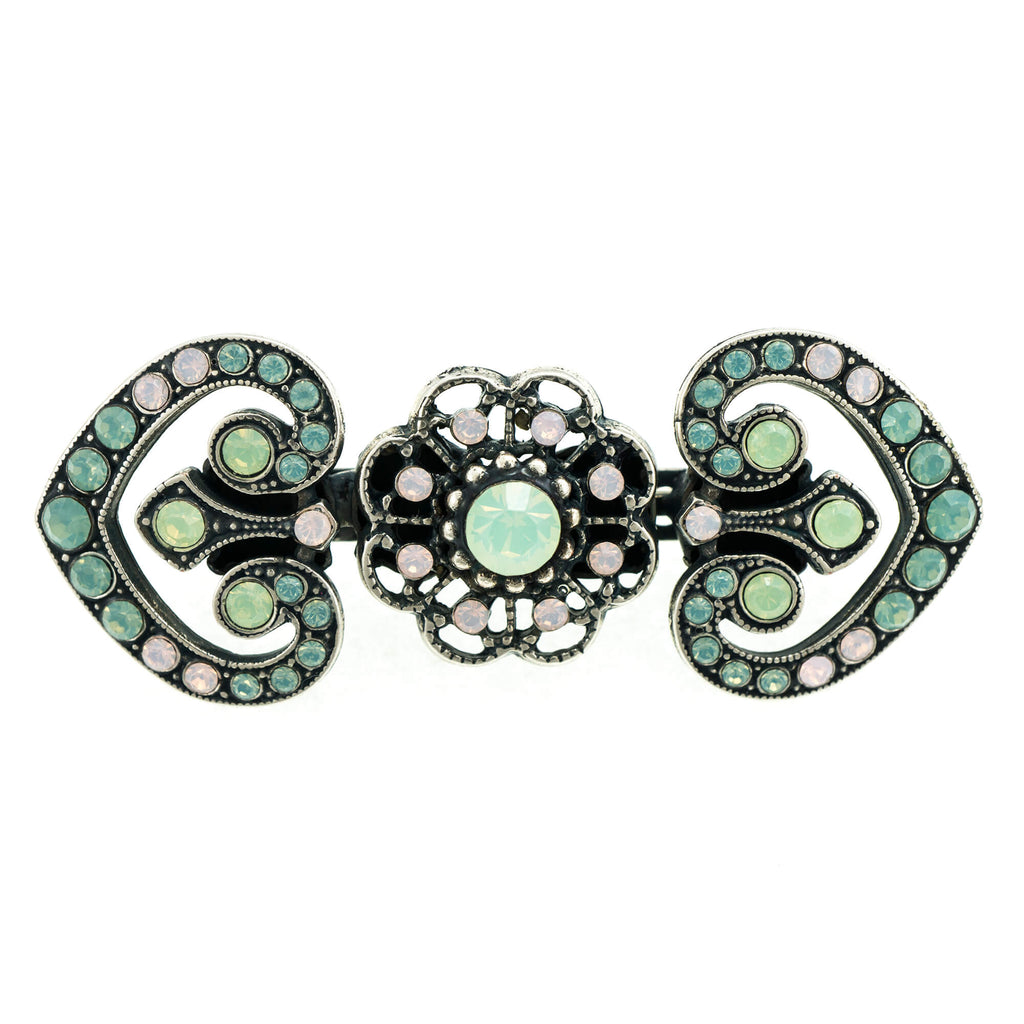 Mariana Silver Plated Brooch | Roxanne's Jewellery | 1342SP