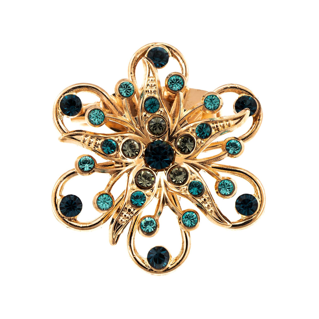 Mariana Rose Gold Plated Brooch | Roxanne's Jewellery | 1114RG