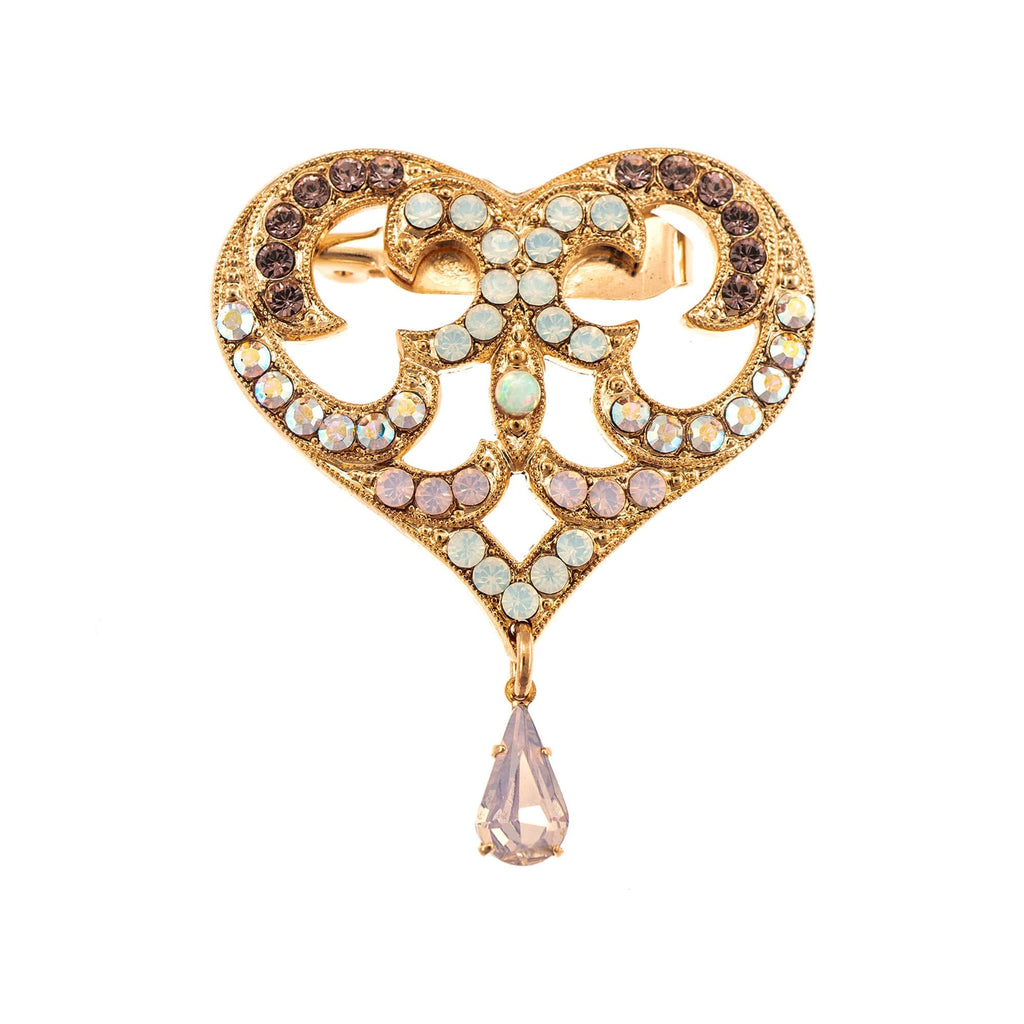 Mariana Rose Gold Plated Brooch | Roxanne's Jewellery | 1112RG