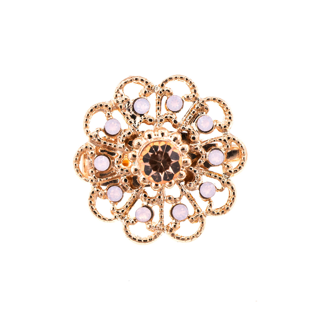 Mariana Rose Gold Plated Brooch | Roxanne's Jewellery | 2333RG