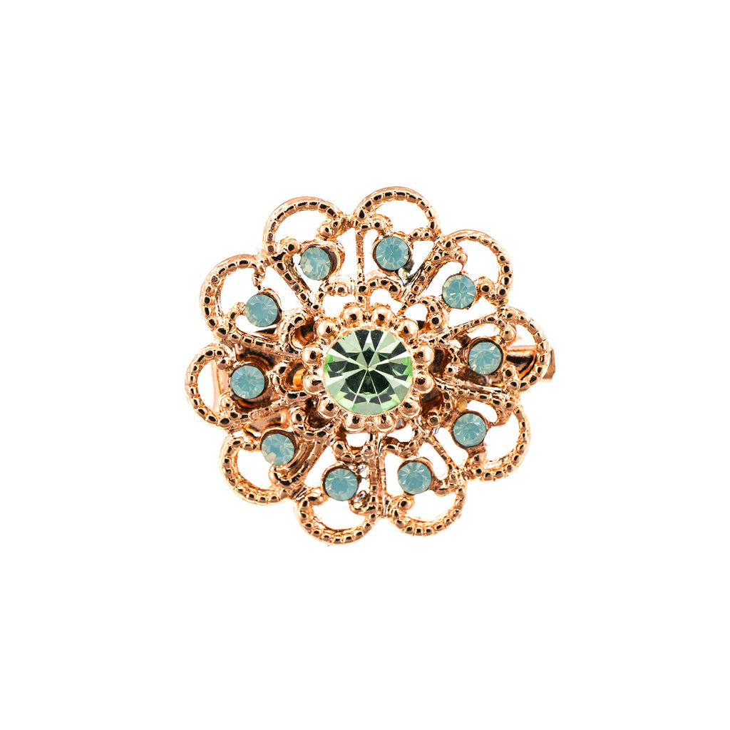 Mariana Rose Gold Plated Brooch | Roxanne's Jewellery | 390RG