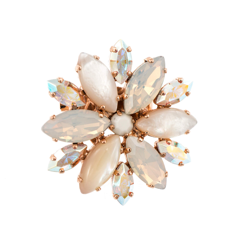 Mariana Rose Gold Plated Brooch | Roxanne's Jewellery | M1201RG