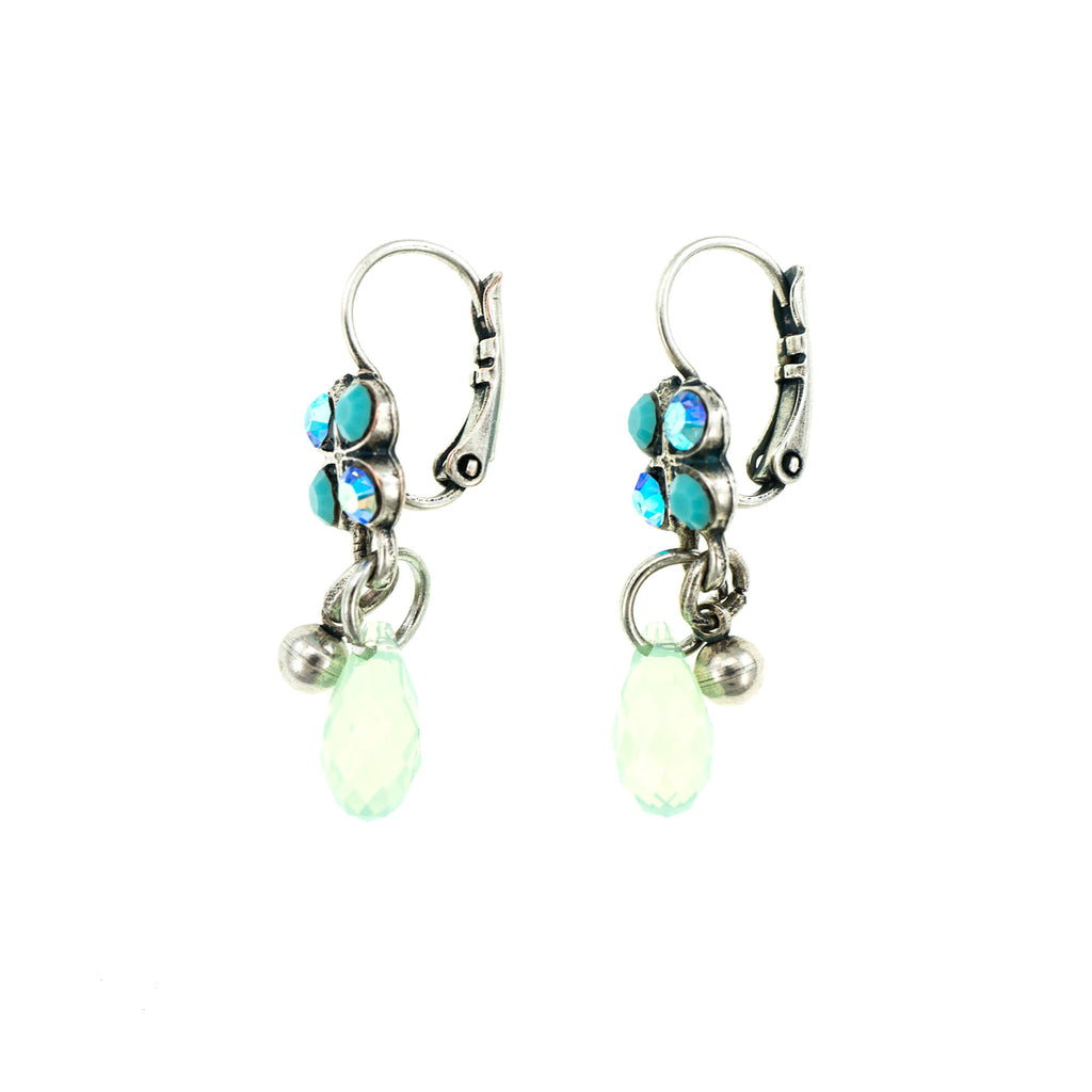 Cindy Collection Silver Plated Earrings-1004-2677SP6