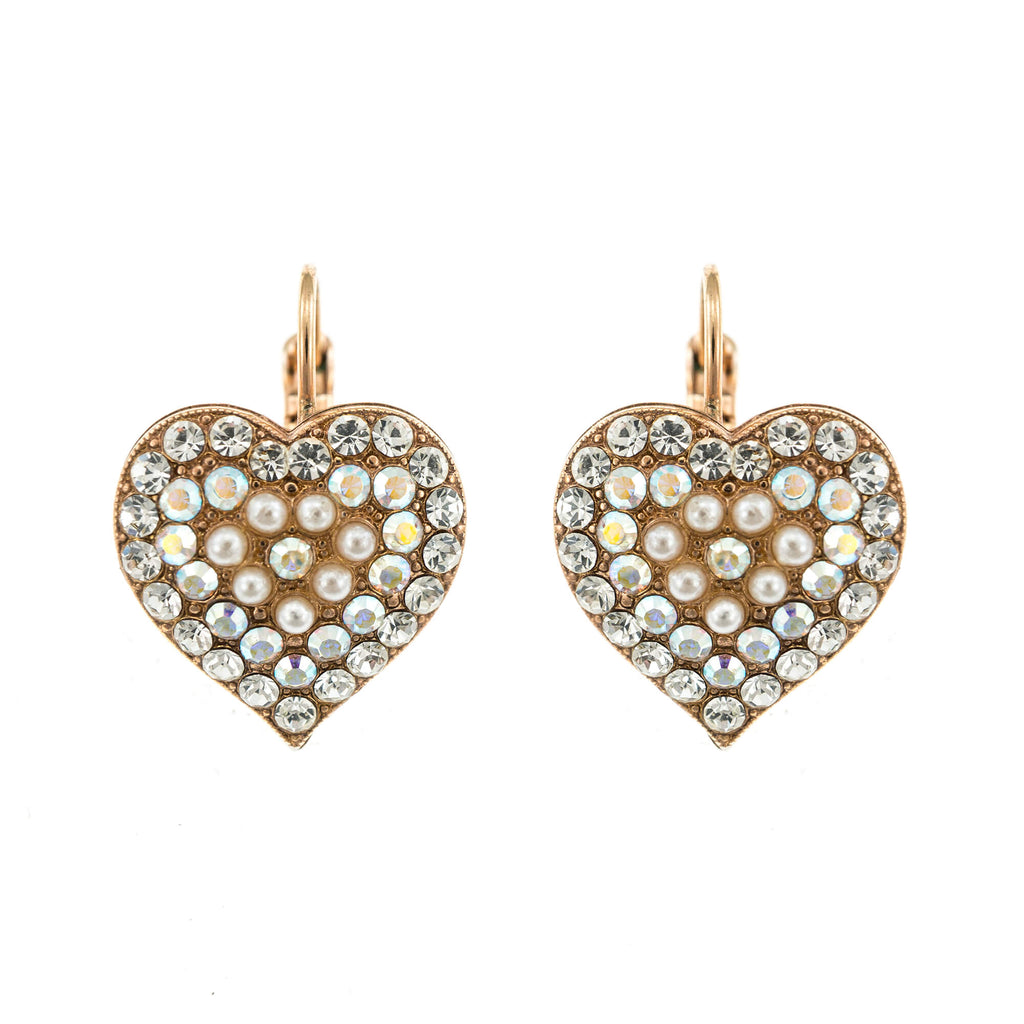 Mariana Rose Gold Plated Earrings | Roxanne's Jewellery | M48001RG6