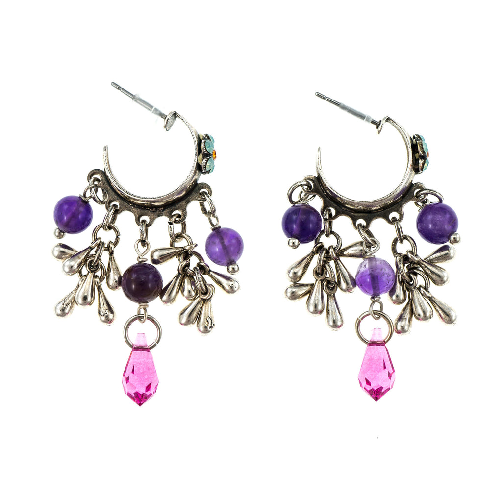 Mariana Silver Plated Earrings | Roxanne's Jewellery | M803SP2