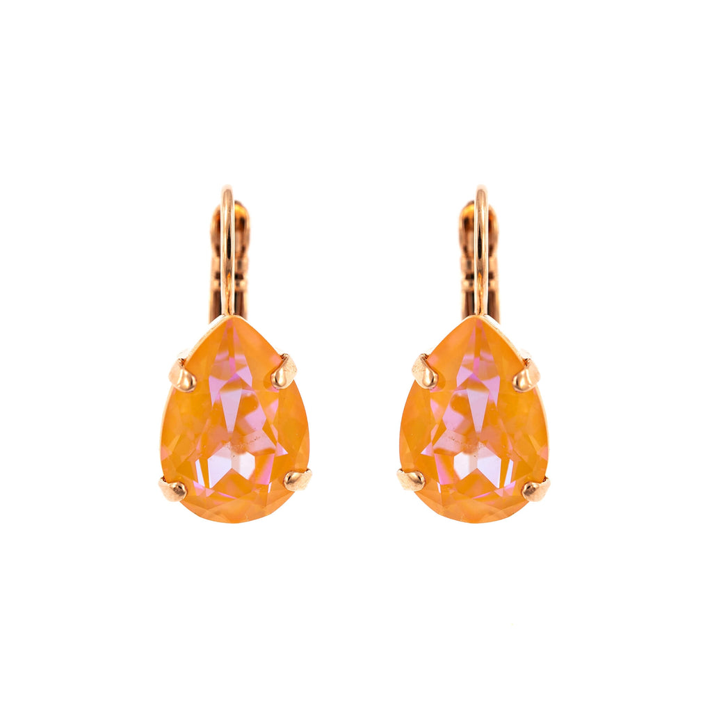 Mariana Rose Gold Plated Earrings | Roxanne's Jewellery | 140RG6