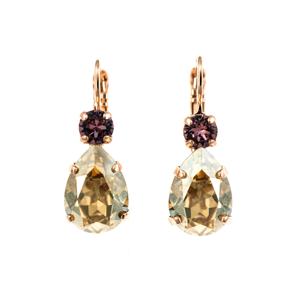 Mariana Rose Gold Plated Earrings | Roxanne's Jewellery | 1092RG6