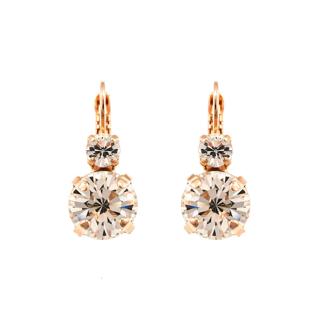 Mariana Rose Gold Plated Earrings | Roxanne's Jewellery | 001001RG6
