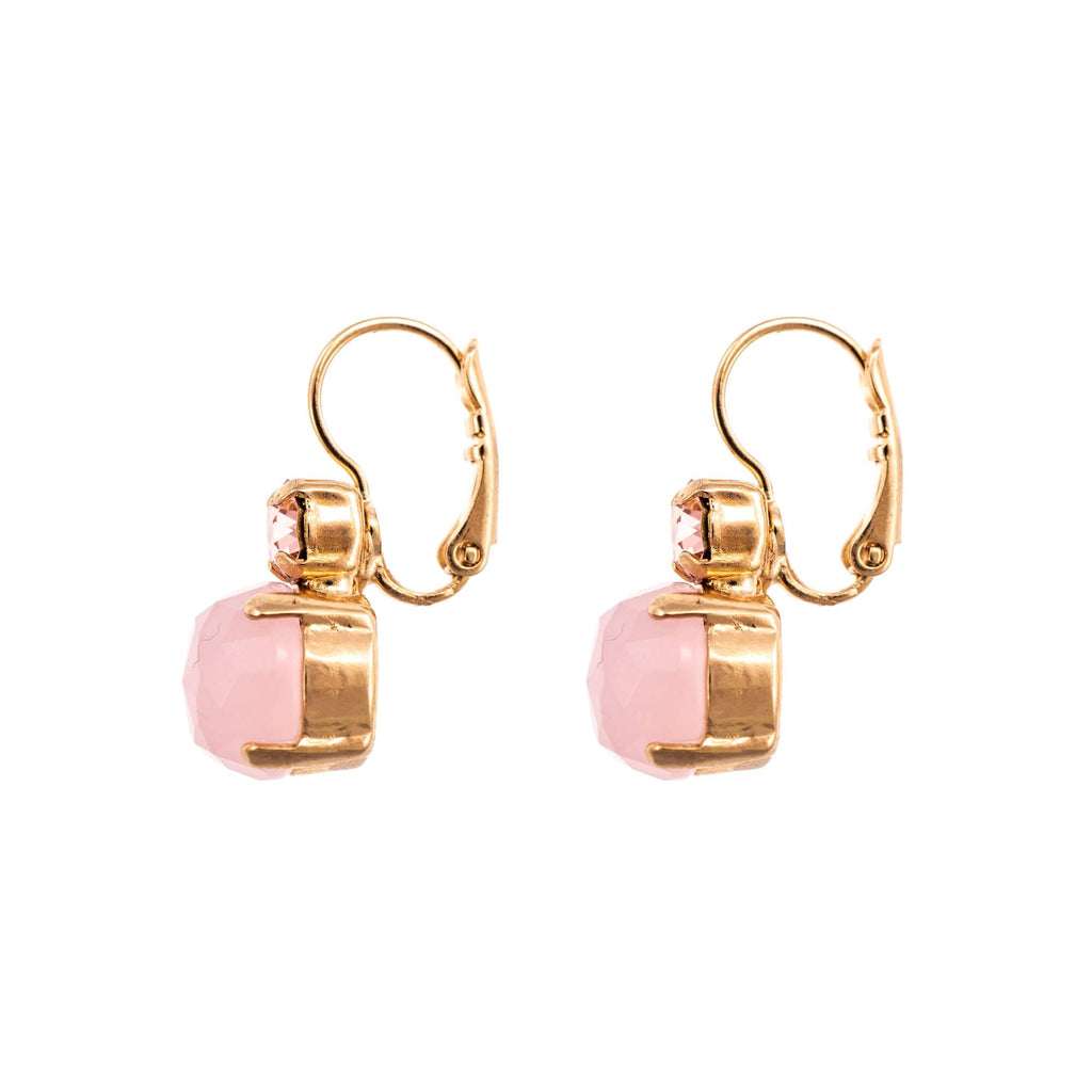 Natural Stones Collection Rose Gold Plated Earrings-1062M-14-1RG6