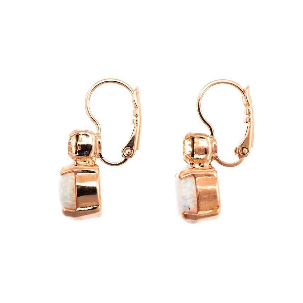 Seashell Collection Rose Gold Plated Earrings-1062SO-391M9RG6