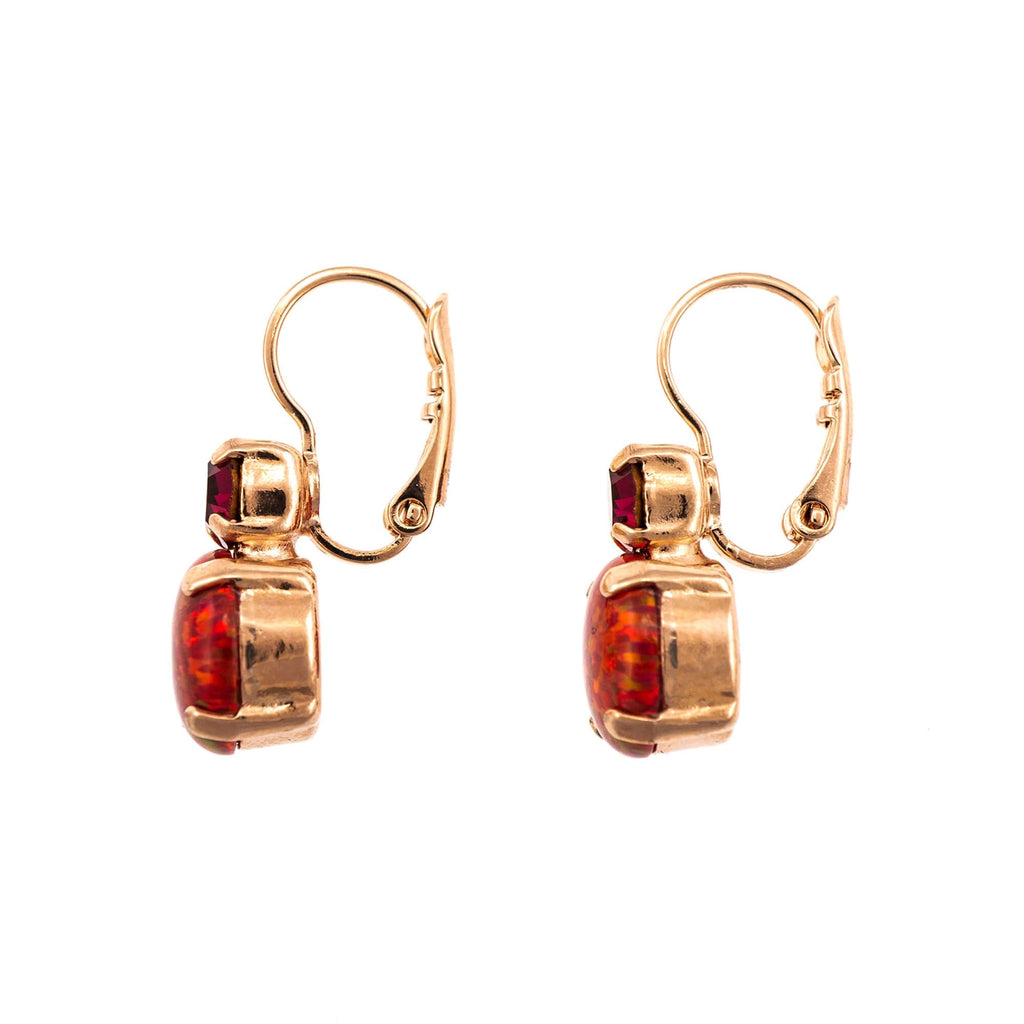 FireFly Collection Rose Gold Plated Earrings-1062SO-M2140RG6
