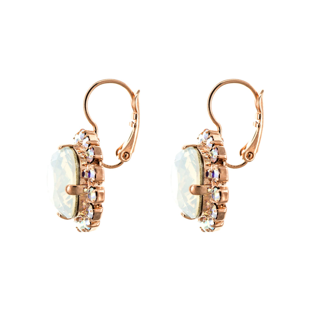 Seashell Collection Rose Gold Plated Earrings-1080/4-1201RG6