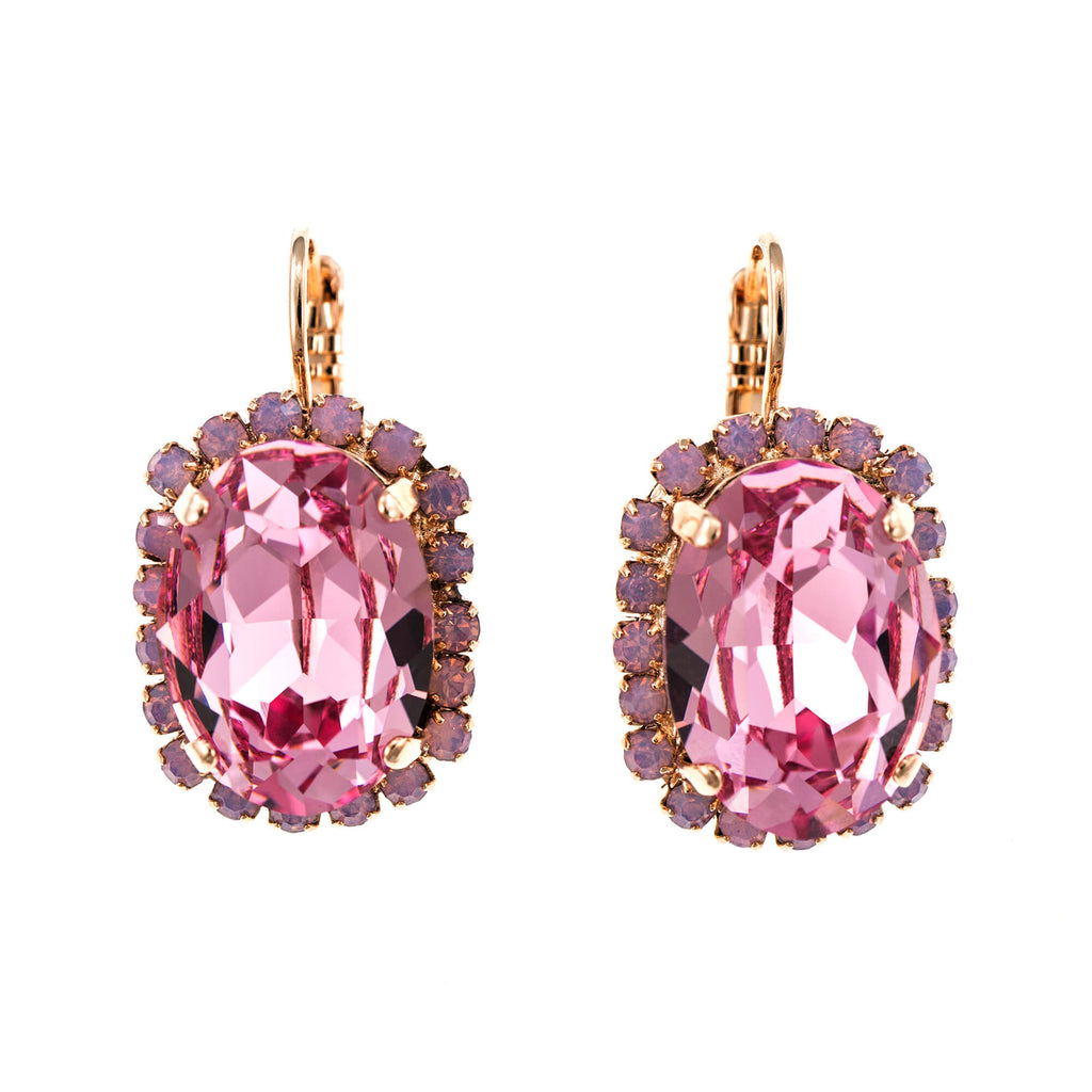 Mariana Rose Gold Plated Earrings | Roxanne's Jewellery | 1063RG6