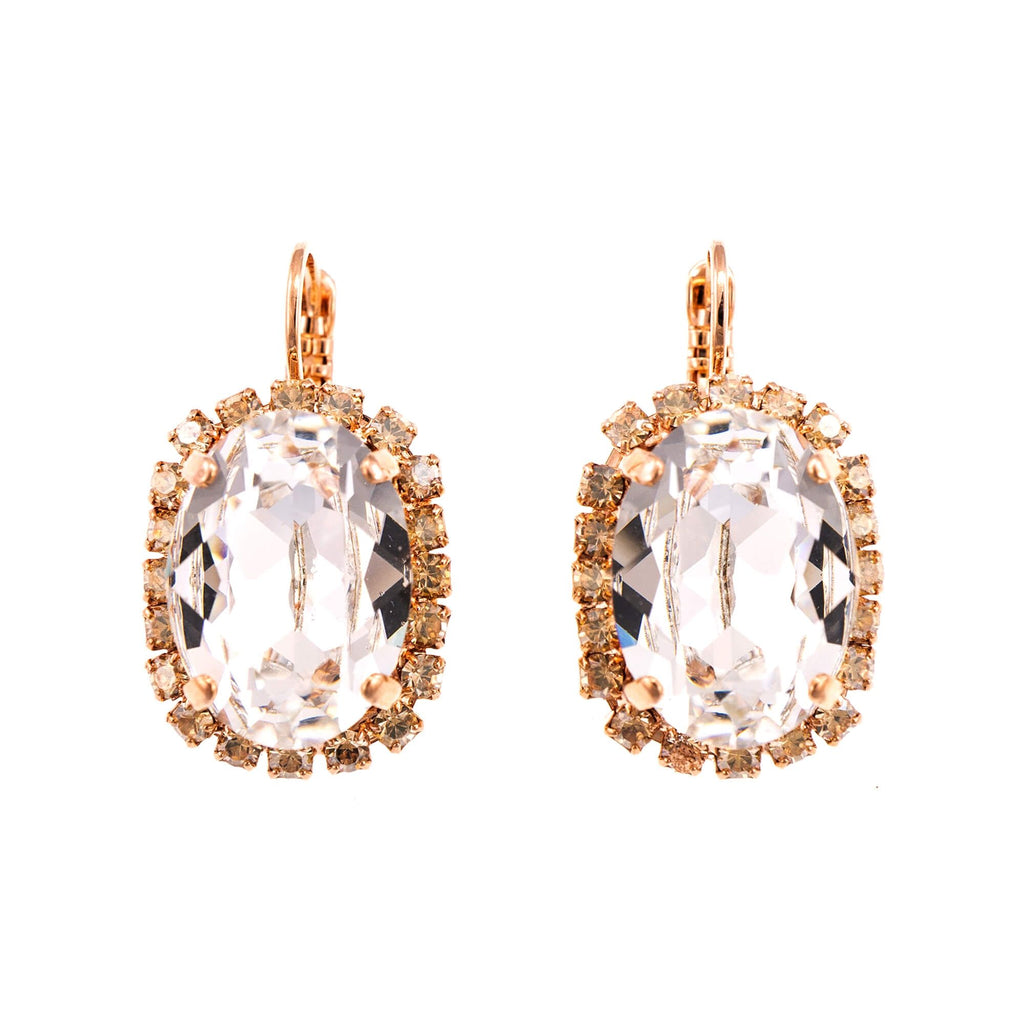 Mariana Rose Gold Plated Earrings | Roxanne's Jewellery | 391100RG6