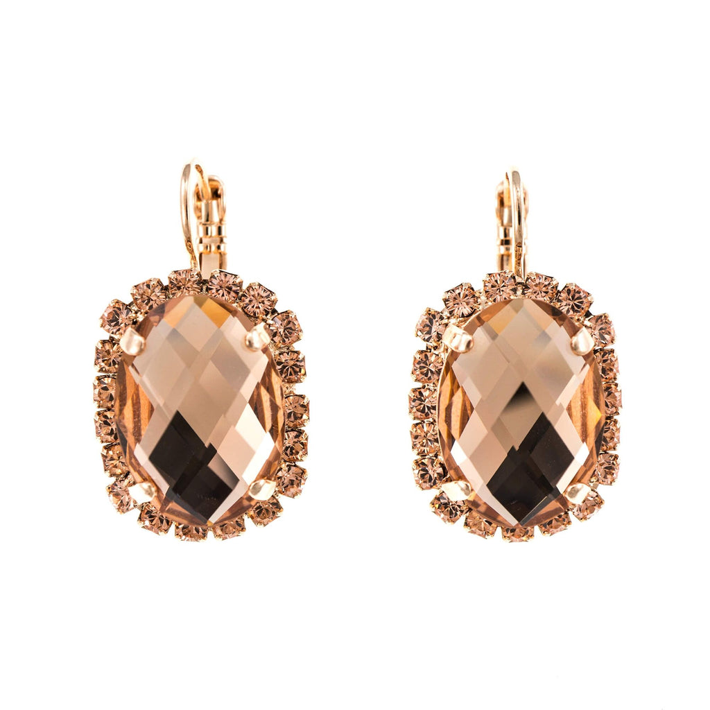 Mariana Rose Gold Plated Earrings | Roxanne's Jewellery | 39132RG6