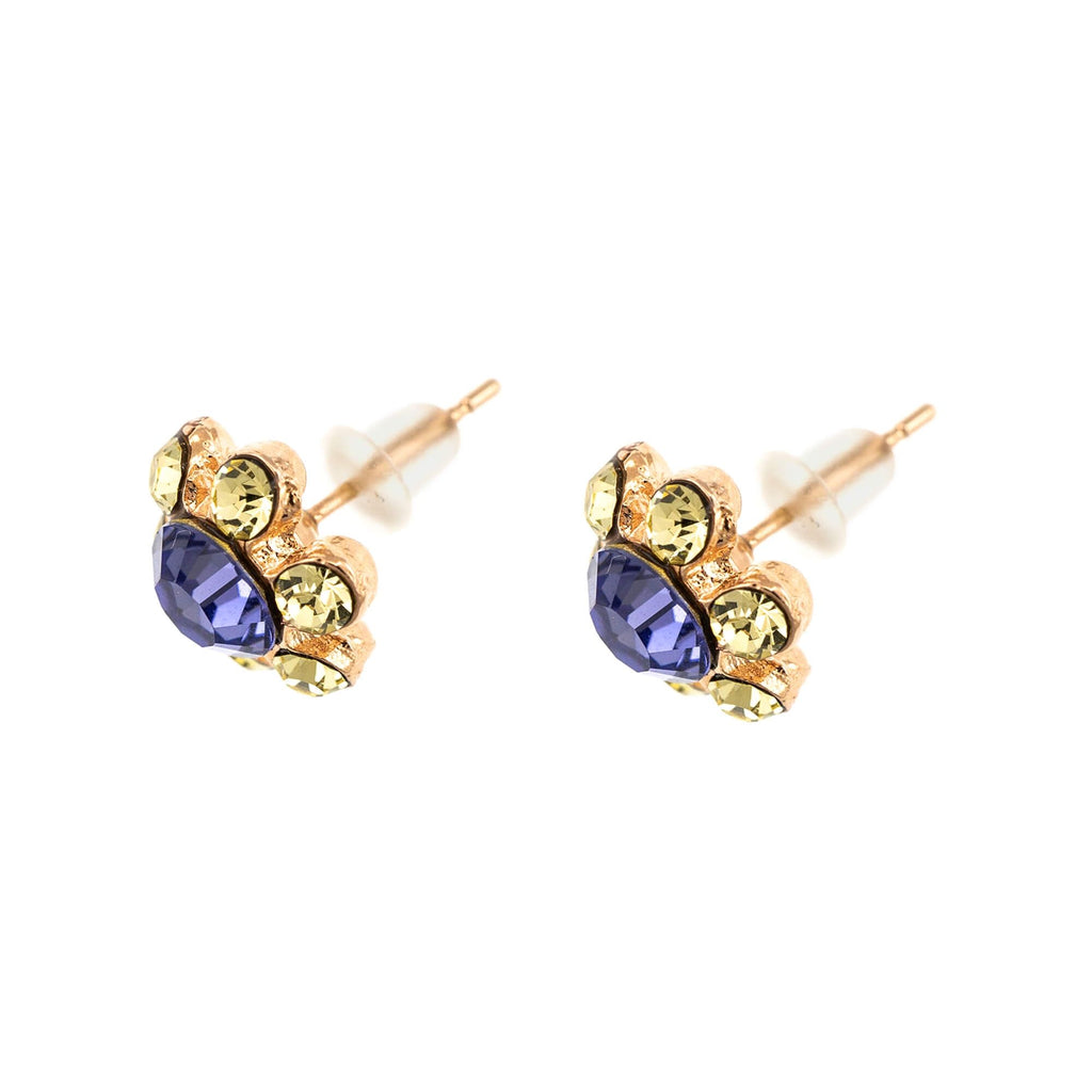 Fairyland Collection Rose Gold Plated Earrings-1090/3_SE-2008-1117RG2