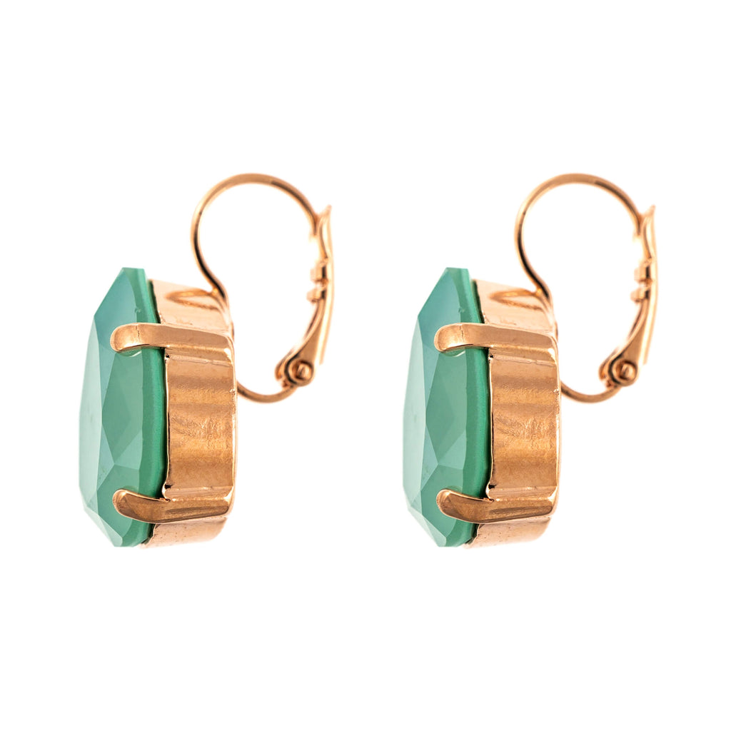 Painted Lady Collection Rose Gold Plated Earrings-1098/5-397RG6