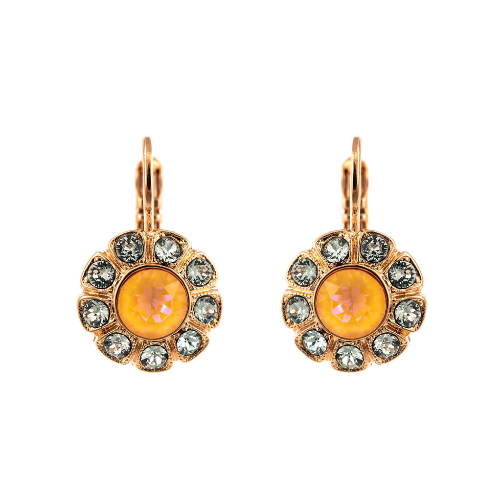 Mariana Rose Gold Plated Earrings | Roxanne's Jewellery | 1913RG6