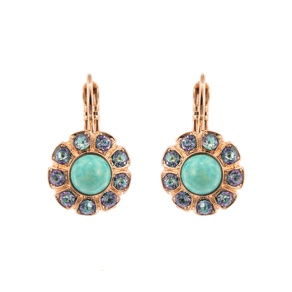 Mariana Rose Gold Plated Earrings | Roxanne's Jewellery | M1107RG6