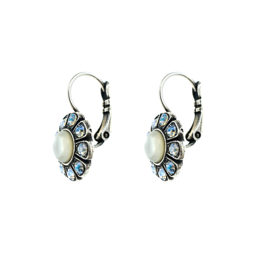 Forever Collection Silver Plated Earrings-1131-M5087SP6