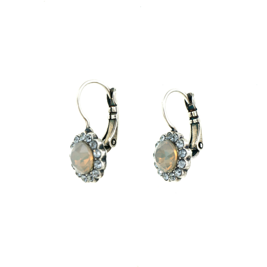 Silk Collection Silver Plated Earrings-1133-1049SP6
