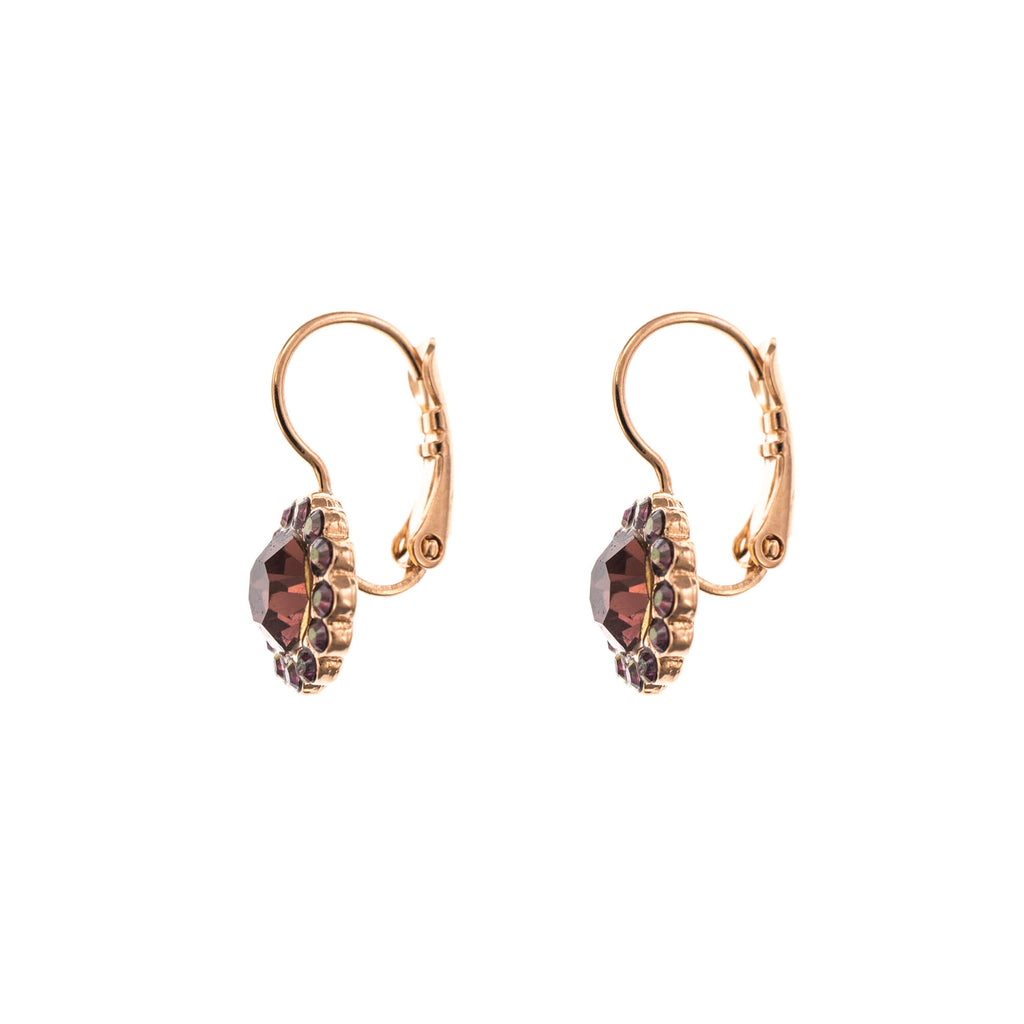 Penelope-Odyssey Collection Rose Gold Plated Earrings-1133-1089RG6