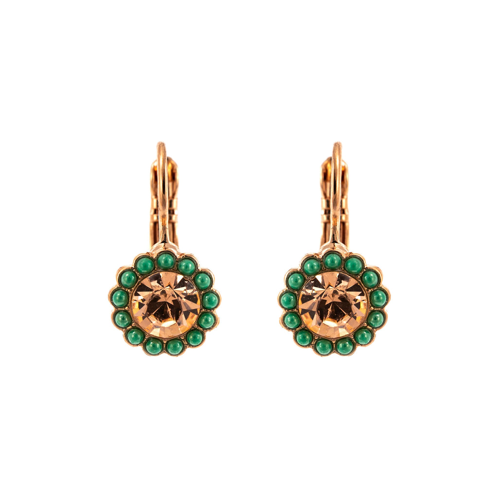 Mariana Rose Gold Plated Earrings | Roxanne's Jewellery | 1120RG6