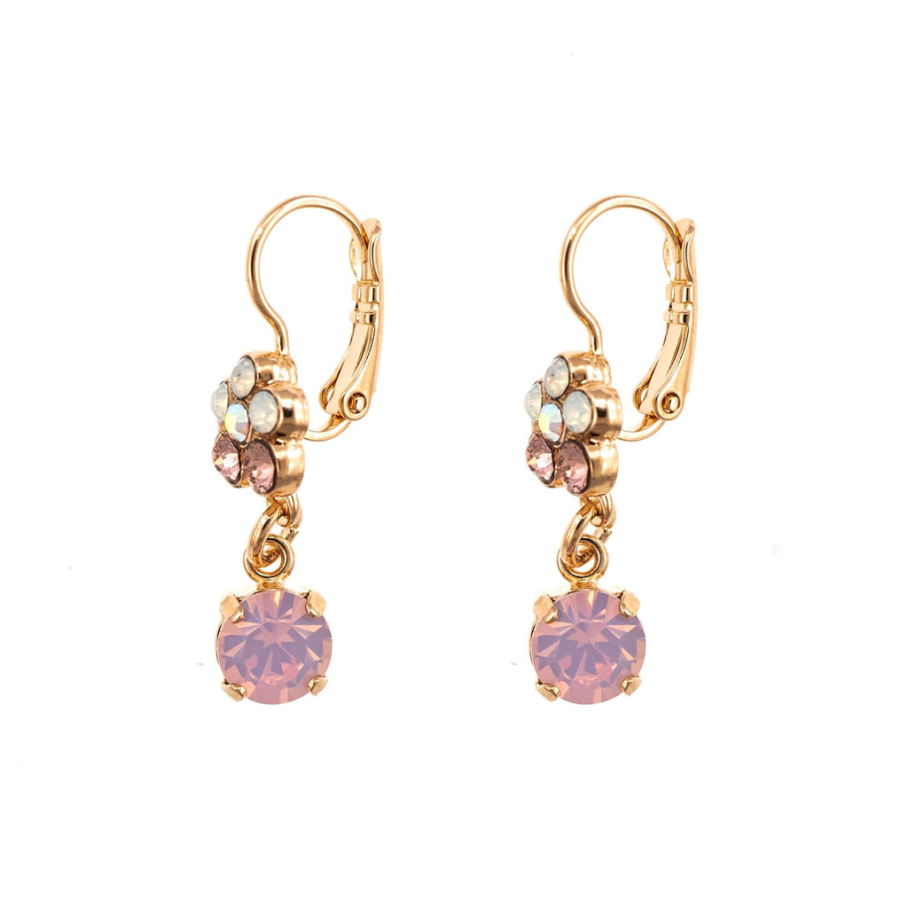 Aura  Collection Rose Gold Plated Earrings-1152/3-1112RG1