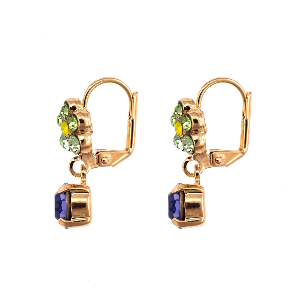Fairyland Collection Rose Gold Plated Earrings-1152/3-1117RG1