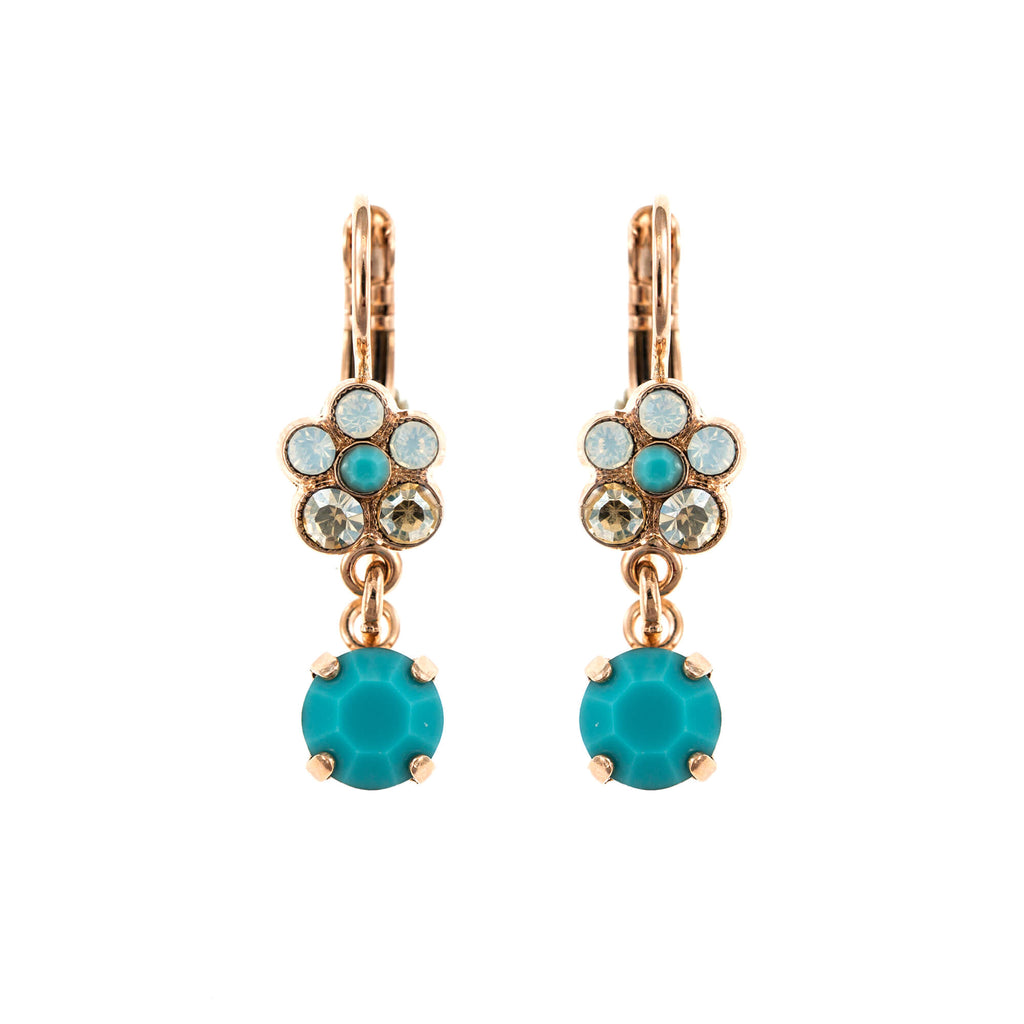 Mariana Rose Gold Plated Earrings | Roxanne's Jewellery | 807RG6
