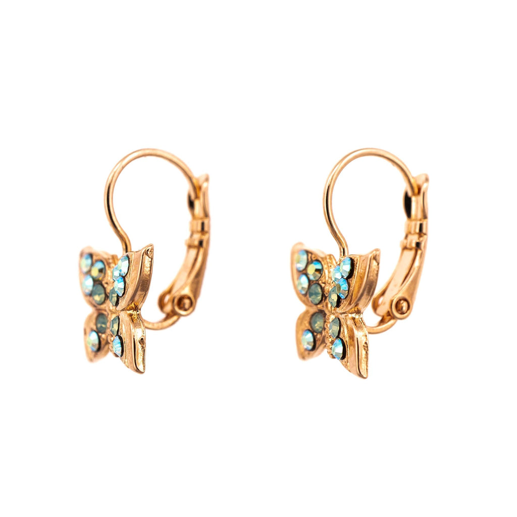 Fern Collection Rose Gold Plated Earrings-1155-2143RG6