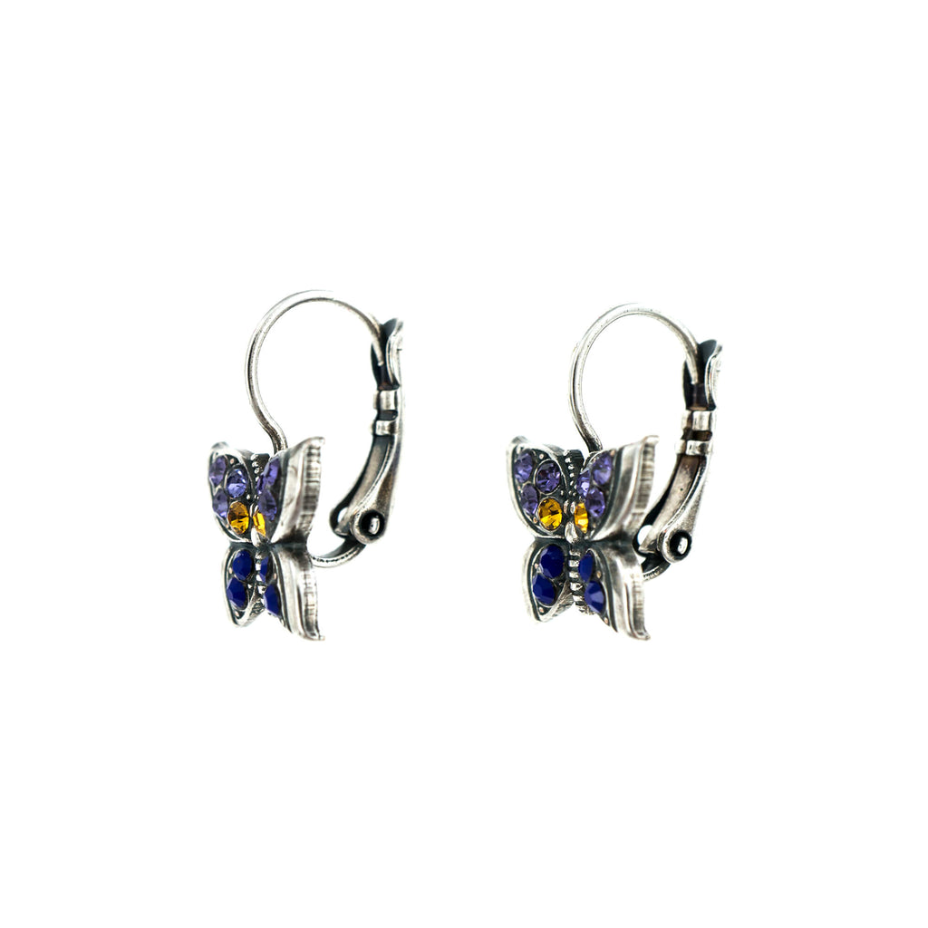 Flower Power Collection Silver Plated Earrings-1155-803SP6