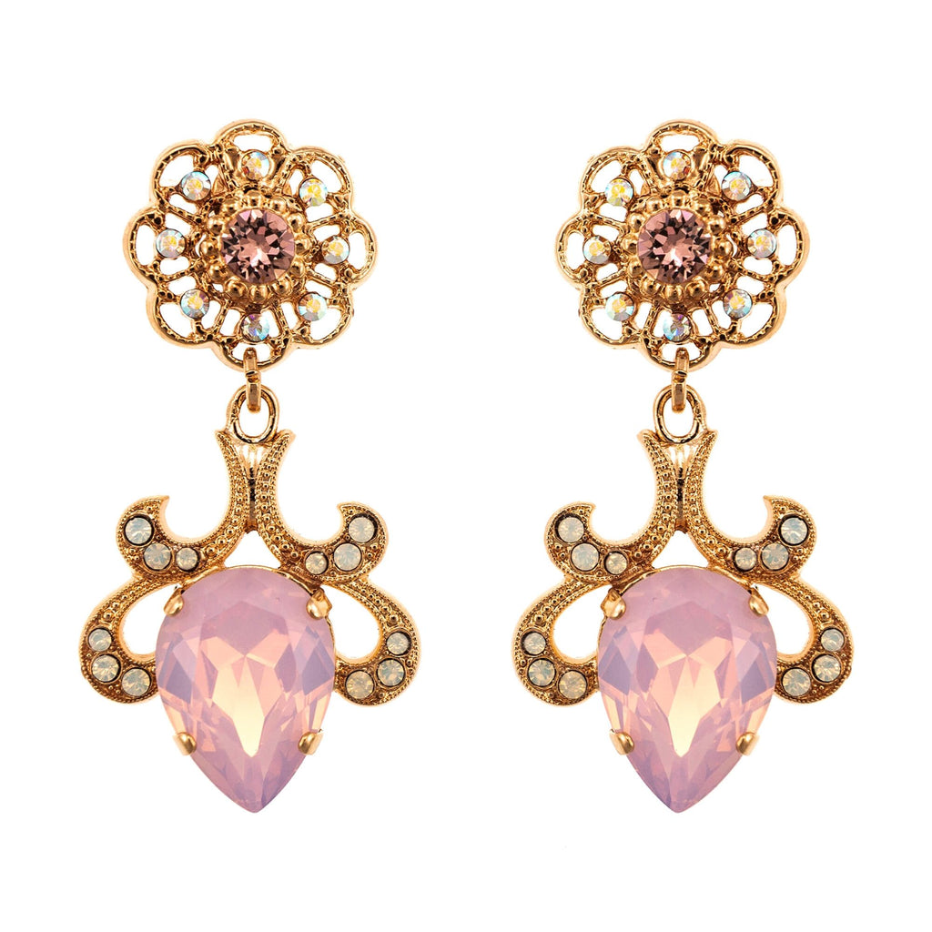 Mariana Rose Gold Plated Earrings | Roxanne's Jewellery | 1112RG2