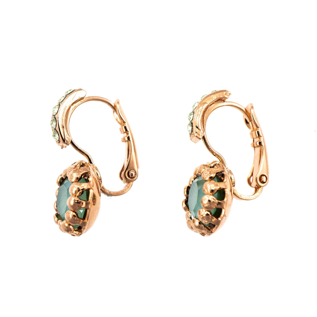 Fern Collection Rose Gold Plated Earrings-1160-2143RG6