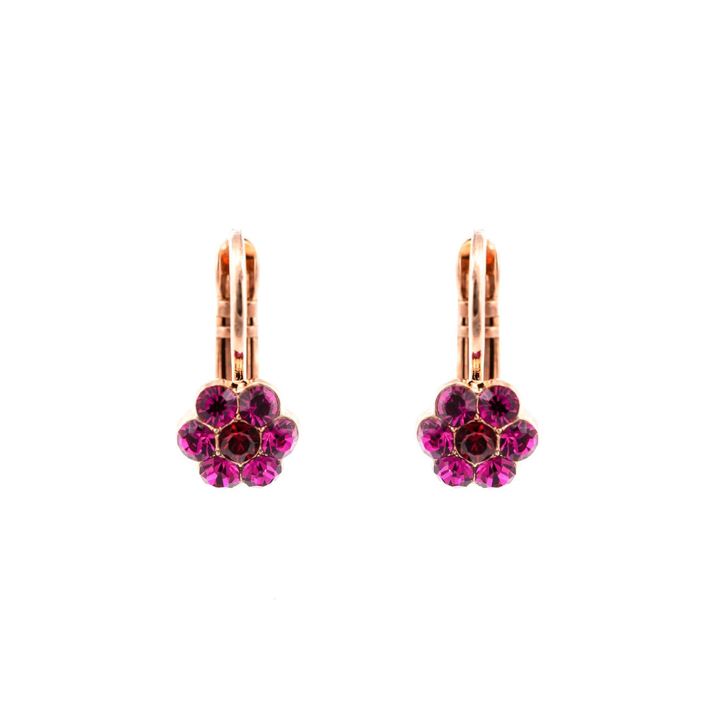 Mariana Rose Gold Plated Earrings | Roxanne's Jewellery | 2140RG6